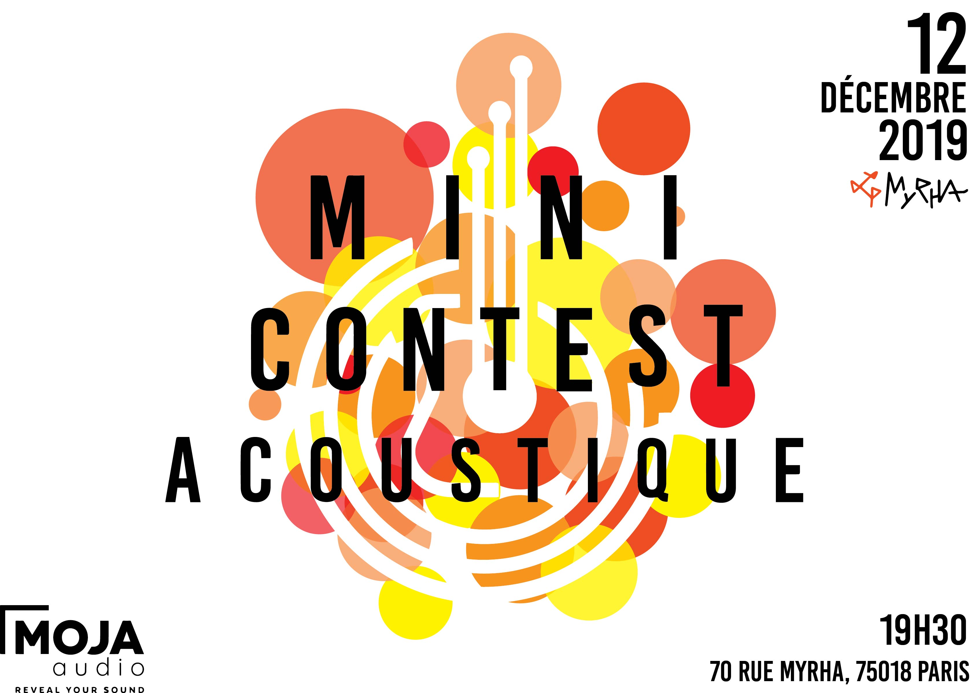 Mini-Contest acoustique #6