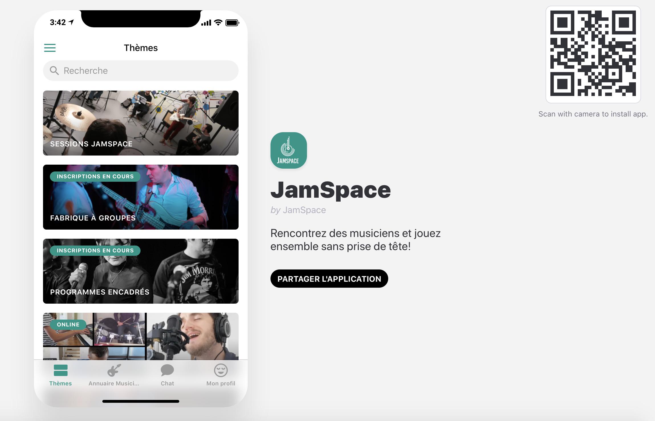 JamSpace App - Sept20