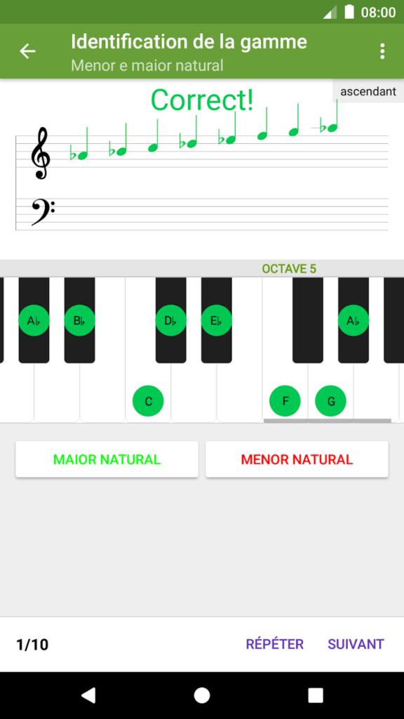 Une application pour développer sa pratique musicale et entraîner son oreille : Perfect Ear - Ear Trainer